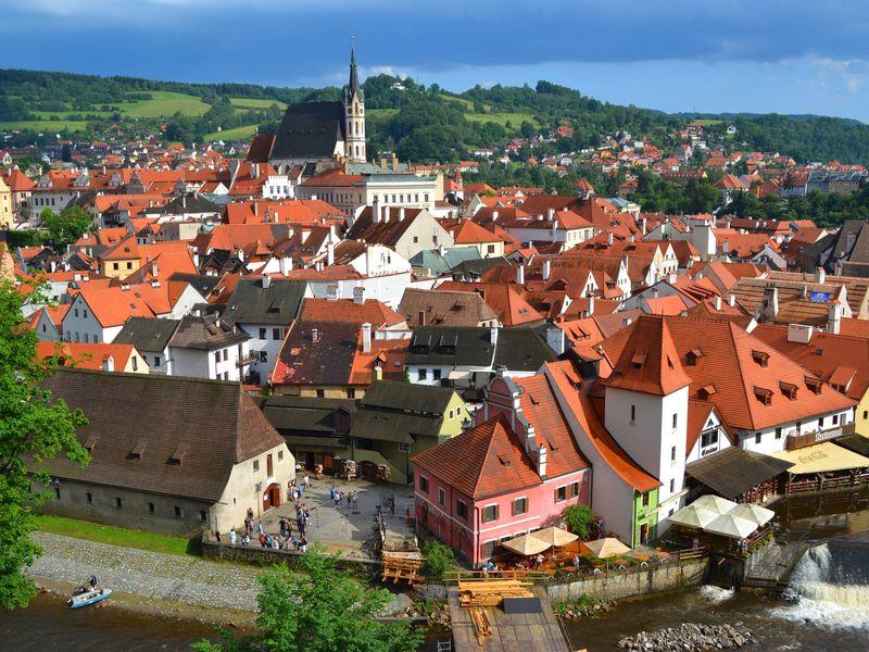 Экскурсия Групповая экскурсия из Праги в Чески-Крумлов