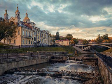 Тысячелетний имноголикий Витебск