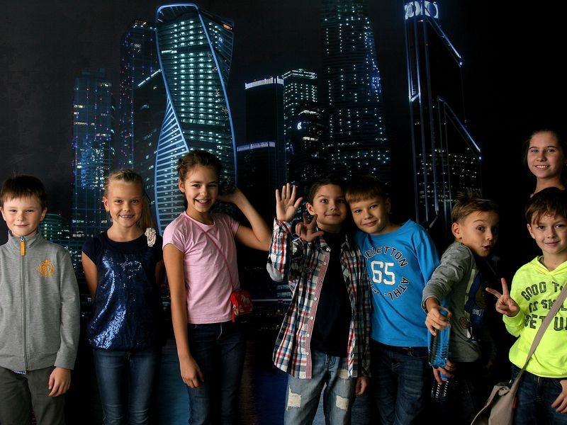 Экскурсия Москва-Сити. Экскурсия-квест для детей от 10 до 18 лет