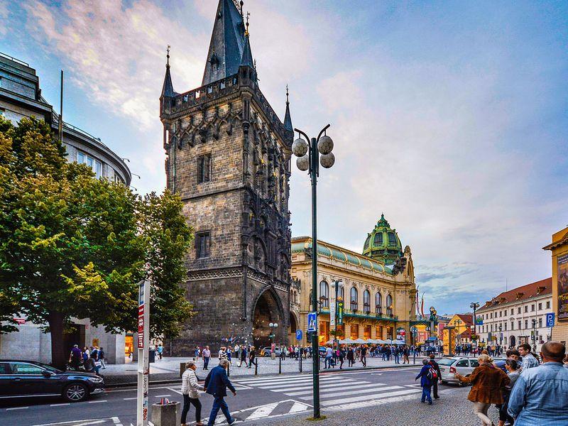 По следам крестоносцев в Праге