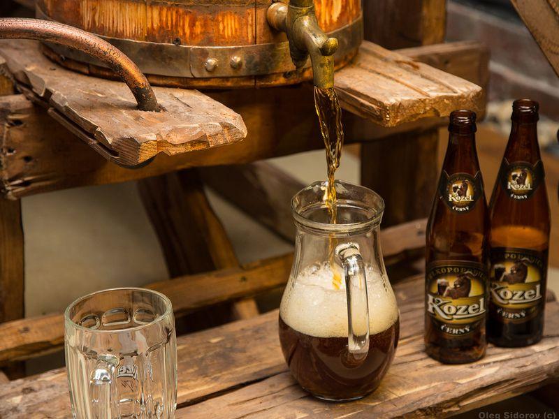 Экскурсия Замок Орлик и пивоварня «Велкопоповицкий Козел»