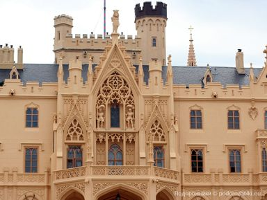 Замок Леднице — романтика Южной Моравии