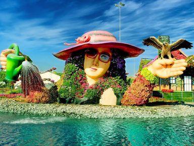 Парк цветов, Глобал Вилладж и шоппинг по-дубайски!
