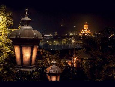 Тбилиси — магия вечернего города