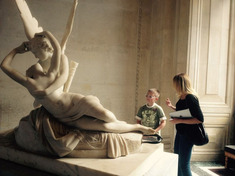 Экскурсия Экскурсия-квест по Лувру для детей