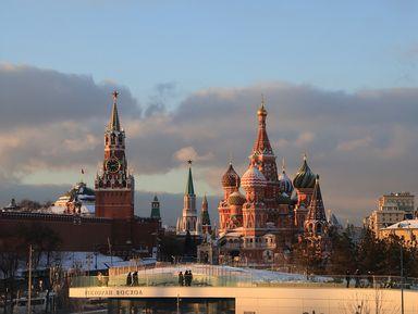 Москва: от Кремля до Зарядья