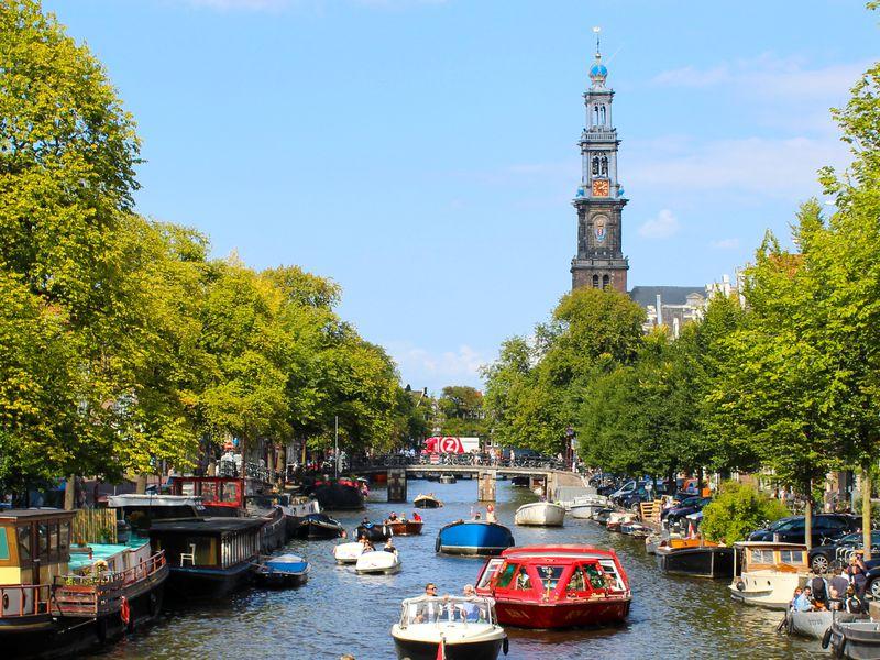 И это все — Амстердам!