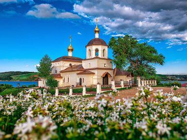 Иннополис, град Свияжск, Раифский монастырь и Храм всех религий