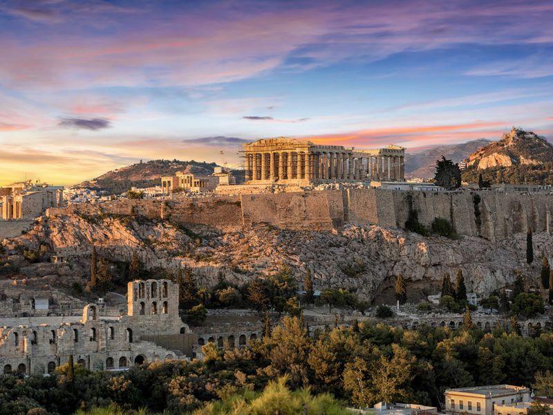 Фото: Афины— город вечной красоты исвободы