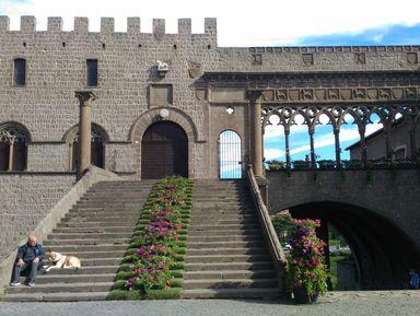 Добро пожаловать в Витербо, или прогулка по Средневековью