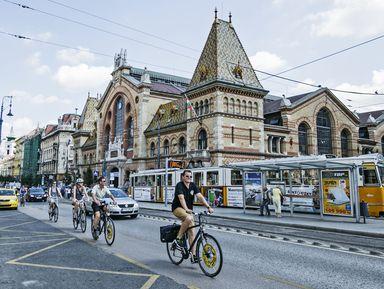 По неизведанному Будапешту на велосипеде!
