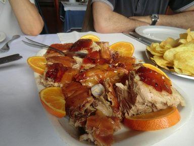 Ужин в португальской деревне