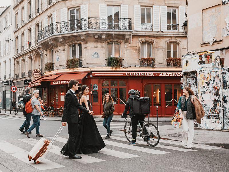 Экскурсия Париж с высоты в квартале Марэ