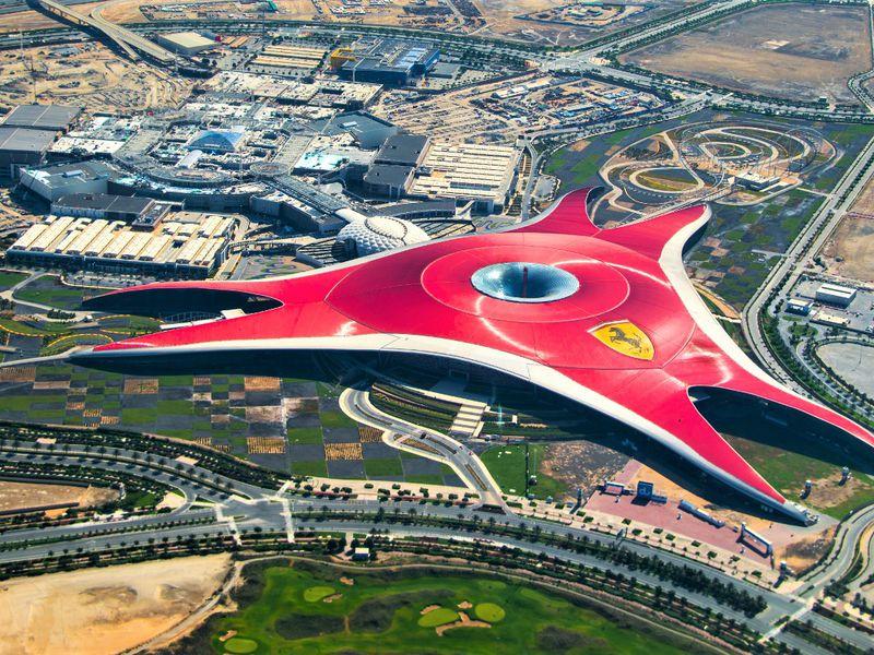 Экскурсия Билеты в парк Ferrari World с обедом