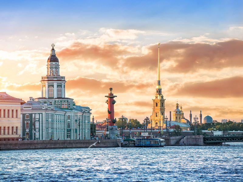 Экскурсия Весь центр Петербурга + Петропавловская крепость