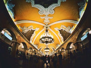Под семью холмами: самые красивые станции московского метро