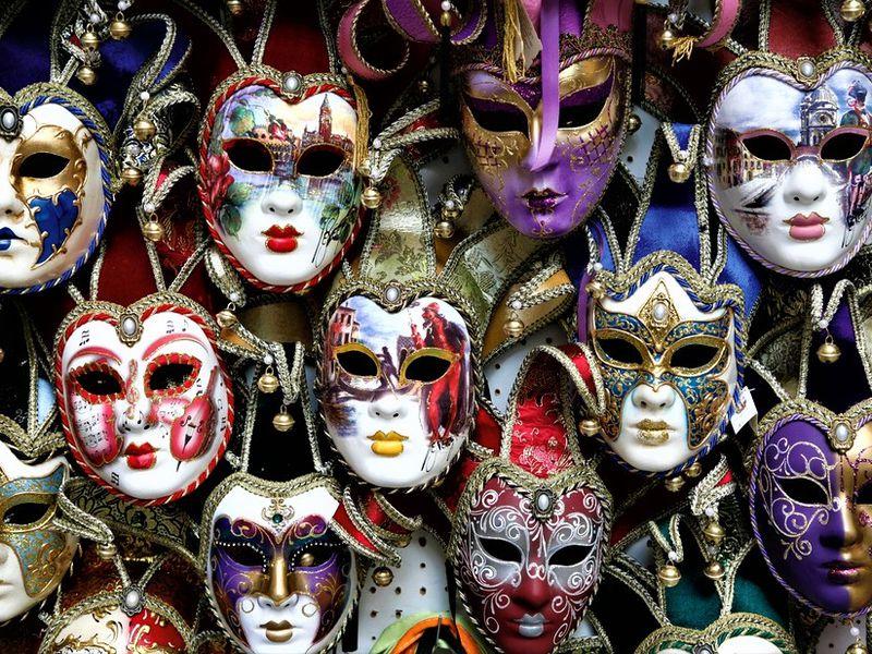 Экскурсия Мастер-класс поизготовлению карнавальной маски