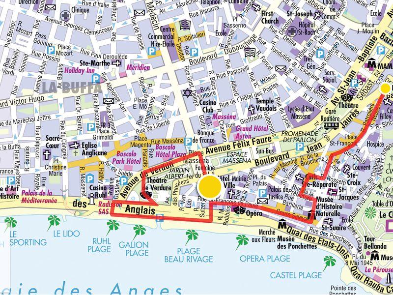 Ежедневная прогулка по Ницце