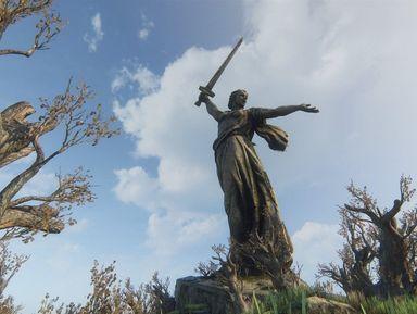Мамаев курган — непокоренный, мистический, легендарный
