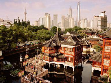 Добро пожаловать вШанхай!