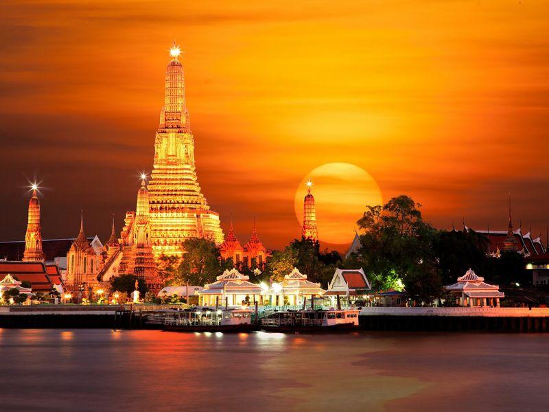 Экскурсия Королевский Бангкок для пассажиров круизных лайнеров