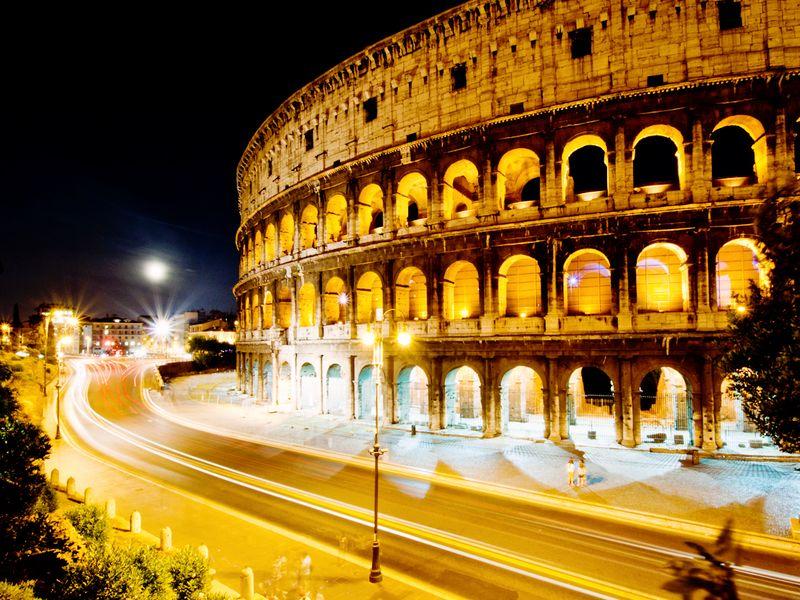 Картинки по запросу ночной рим