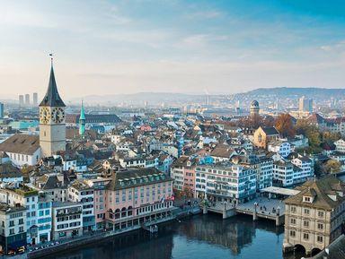 Экскурсия в Цюрихе: Пешком по центру Цюриха