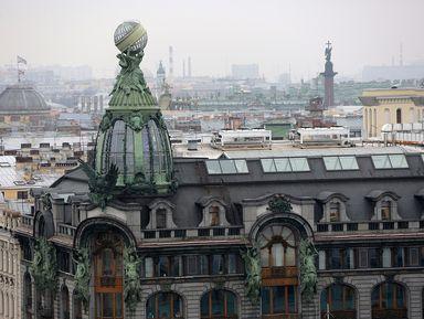 """Экскурсия """"Экскурсия на крышу Зингера (Дома Книги)"""": фото"""