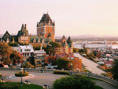 Обзорные и тематические экскурсии в городе Квебек