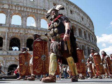 Гладиаторы и легионеры Древнего Рима