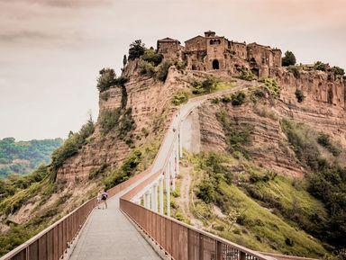 День в средневековой сказке недалеко от Рима