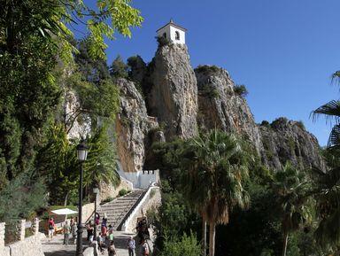 Крепость Гуадалест и водопады Альгара