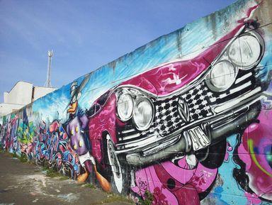 По маршруту современного уличного искусства