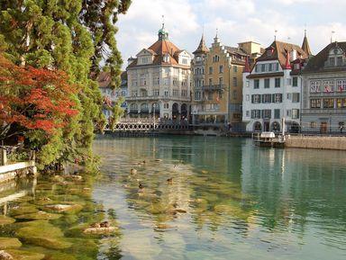 Из Цюриха — в Люцерн, сердце Швейцарии