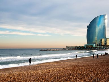 Барселона и Море