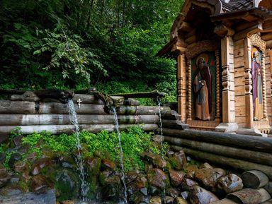 Водопад Гремячий ключ ирусская Гефсимания