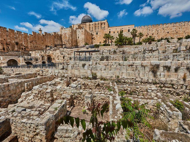 Экскурсия Град Давида— исток Иерусалима