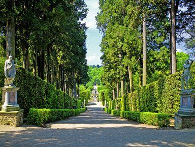 Сады Боболи— шедевр итальянского Ренессанса
