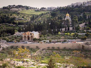 ВИерусалим изТель-Авива: христианские святыни