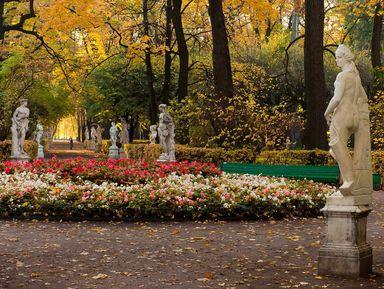 История исекреты петербургских садов