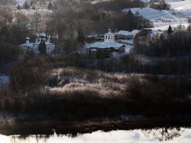 Легендарный монастырь и неоглядные дали в Мальской долине