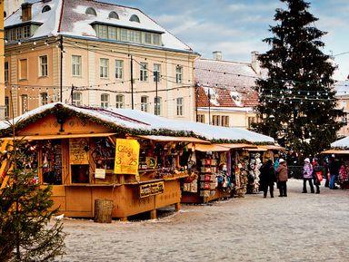 Экскурсия : Рождественский Таллин— прогулка поСтарому городу