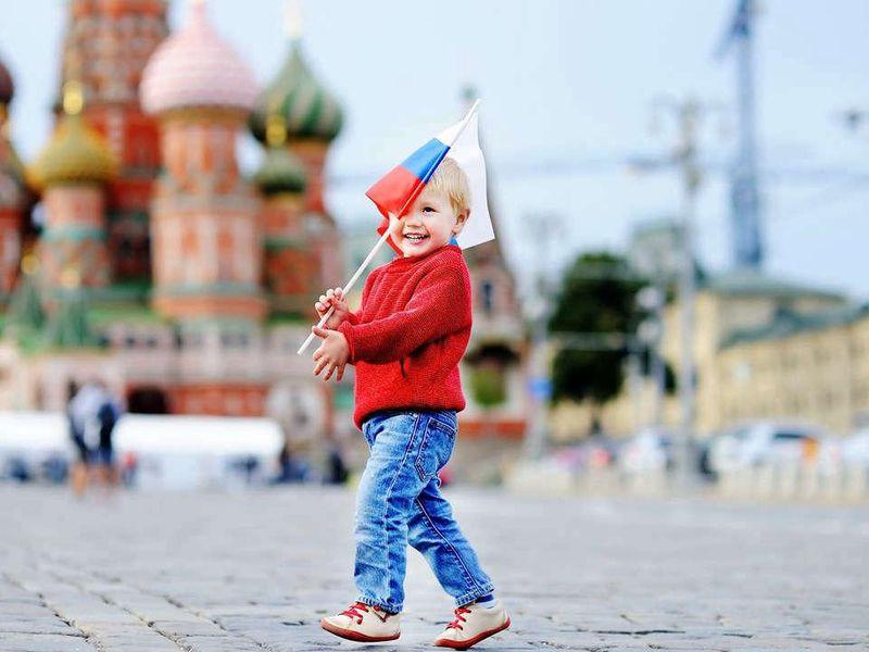 Детская экскурсия по Красной площади