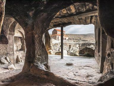 Древность в камне — храмы Мцхеты и пещеры Уплисцихе