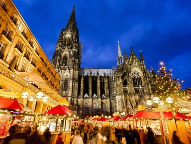 Рождественский Кёльн и лучшие ярмарки Германии