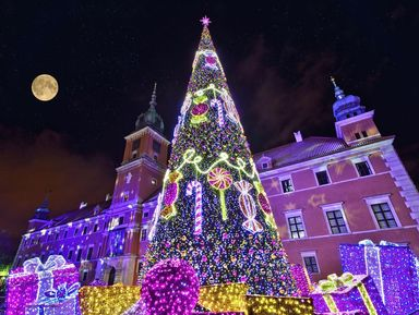 Магия рождественской Варшавы