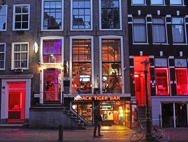 Красный, зеленый и северный Амстердам!