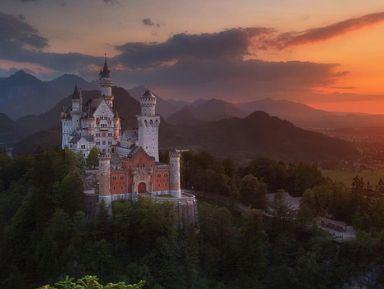 Замок Нойшванштайн, дворец Линдерхоф, сказочная деревня Обераммергау
