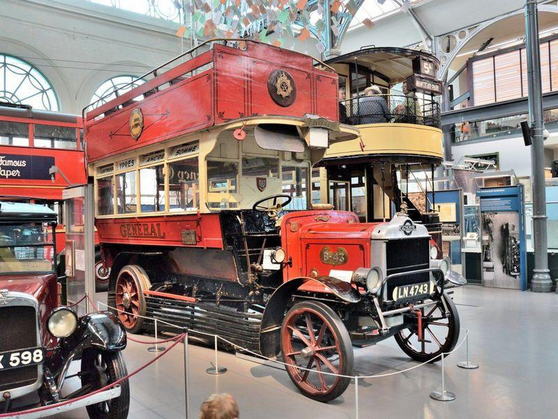 Экскурсия Лондон от омнибуса до автобуса