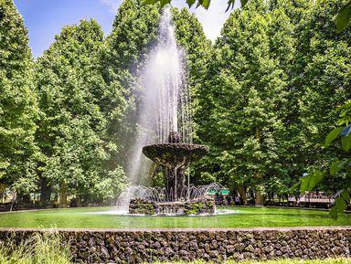 Парки Еревана, или тысяча иодин фонтан